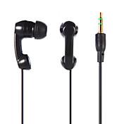 En el oido Con Cable Auriculares Armadura equilibrada El plastico Teléfono Móvil Auricular Auriculares