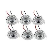 Luces Empotradas Descendentes 1 leds LED de Alta Potencia Decorativa Blanco Cálido 200lm 3000K AC 100-240V