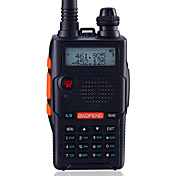 BAOFENG UV-5R5TH-BLK Walkie-talkie Håndholdt Digital Lader og adapter Stemmekommando Strømskifter høy/lav Type walkie-talkie CTCSS/CDCSS
