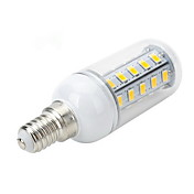 500-600 lm E14 E26/E27 LED-kornpærer T 36 leds SMD 5730 Varm hvit Kjølig hvit AC 220-240V