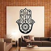 Mote Historie Former Ord & Citater Vintage Veggklistremerker Fly vægklistermærker Dekorative Mur Klistermærker, PVC Hjem Dekor