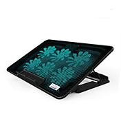 seks fans ergonomisk justerbar kjøligere kjøling pad med stativ holder pc laptop notebook