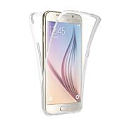 Funda Para Samsung Galaxy Samsung Galaxy S7 Edge Other Funda de Cuerpo Entero Brillante TPU para S8 Plus S8 S7 edge S7 S6 edge plus S6