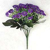 Kunstige blomster 1 Gren Enkel Stil Orkideer Bordblomst