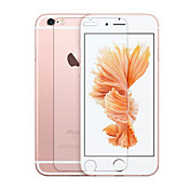 Protector de pantalla Apple para iPhone 6s Plus iPhone 6 Plus Vidrio Templado 1 pieza Protector de Pantalla Frontal Borde Curvado 2.5D
