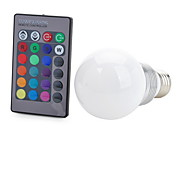100-200 lm E26/E27 Bombillas LED Inteligentes T 1 leds COB Decorativa Control Remoto RGB AC 85-265V
