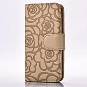 Etui Til Apple iPhone X iPhone 8 iPhone 6 iPhone 6 Plus Kortholder Lommebok med stativ Flipp Mønster Inngravert Heldekkende etui