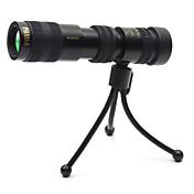 10-12030X25 Monokulær Zoom Håndholdt Spotting Kikkert Militær Bæreveske Taktisk Militær Fuglekikking Jakt Generelt bruk BAK4 Helbelagt