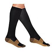 Knehøye Sokker Unisex Komprimering til Trening & Fitness / Racerløp / Løp