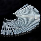 transferencia de líquidos utensilios de cocina pipeta de 3 ml pipetas de plástico con cuentagotas de ojo, un conjunto de 50