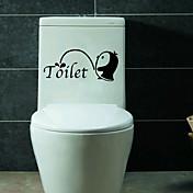 Mote Wall Stickers Fly vægklistermærker Dekorative Mur Klistermærker / Køleskabs klistermærker / Toilet klistermærker,PVC MaterialeKan