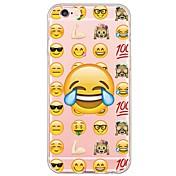 Til Etui iPhone 5 Gjennomsiktig Mønster Etui Bakdeksel Etui Tile Myk TPU til AppleiPhone 7 Plus iPhone 7 iPhone 6s Plus/6 Plus iPhone