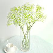 Kunstige blomster 1 Gren Pastorale Stilen Brudeslør Bordblomst