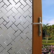 Geométrico Moderno Película para Ventana, PVC/Vinilo Material decoración de la ventana Comedor Dormitorio Oficina Sala de niños Salón