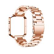 Negro / Rose / Dorado / Plata Acero Inoxidable / Metal Hebilla Clásica Para Fitbit Reloj 23mm