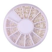 1 pcs Joyería de uñas Clásico / Perla Diario Nail Art Design / ABS