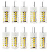 2.5W G4 Luces LED de Doble Pin T 33 leds SMD 2835 Impermeable Decorativa Blanco Cálido Blanco Fresco 250-300lm 3000/6000K AC 100-240V