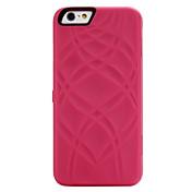 Etui Til Apple iPhone 6 iPhone 6 Plus iPhone 7 Plus iPhone 7 Kortholder Lommebok Speil Heldekkende etui Linjer / bølger Hard PC til