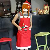 tanto los hombres como las mujeres delantal de la casa de ropa de hotel restaurante camarero decoraciones de Navidad