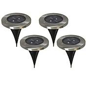 2 LED Varm hvit Oppladbar / Dekorativ Batteri