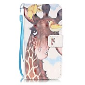 Para Funda iPhone 7 / Funda iPhone 7 Plus / Funda iPhone 6 Soporte de Coche / Diseños Funda Cuerpo Entero Funda Animal DuraCuero