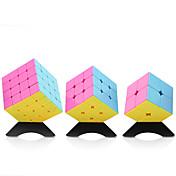 Rubiks kube YONG JUN 2*2 4*4*4 3*3*3 Glatt Hastighetskube Magiske kuber Kubisk Puslespill profesjonelt nivå Hastighet Kvadrat Nytt År