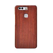 Cornmi para huawei p9 más p9 bambú madera cubierta caso teléfono celular madera houising shell protección