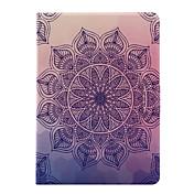 Funda Para Apple iPad 4/3/2 iPad Air 2 iPad Air con Soporte Flip Funda de Cuerpo Entero Mandala Suave Cuero de PU para iPad 4/3/2 iPad