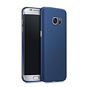 Etui Til Samsung Galaxy S7 edge S7 Støtsikker Ultratynn Bakdeksel Helfarge Hard PC til S7 edge S7 S6 edge plus S6 edge S6