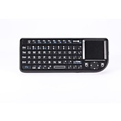 teclado inalámbrico Teclado multimedia con pantalla táctil del ratón para caja androide / pc / IPTV