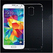 Funda Para Samsung Galaxy Funda Samsung Galaxy Transparente Funda Trasera Color sólido TPU para S5 Mini