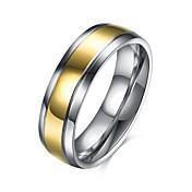 Dame Ring Smykker Personalisert Rundt design Geometrisk Unikt design Vintage Grunnleggende Sirkel Hypoallergenisk søt stil