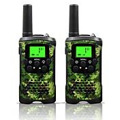 armygreen y camo para walkie talkies niños y 22 canales (hasta hasta 10 km en áreas abiertas) armygreen y walkie talkies camo para los