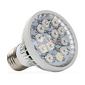 1pc 400-500 lm E14 GU10 E27 Luces LED para Crecimiento Vegetal 12 leds LED de Alta Potencia Blanco Cálido Rojo Azul UV (Luz Negra) AC