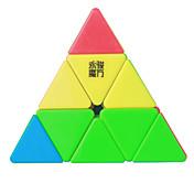 Cubo de rubik YongJun MoYu Cubo velocidad suave Pyraminx Nivel profesional Suave Colorido Anti-pop muelle ajustable Cubos Mágicos Año