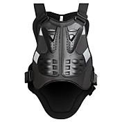 motocicletas de motocross wosawe pecho armadura del protector de carreras chaleco protector cuerpo de guardia guardias armadura pe soporte