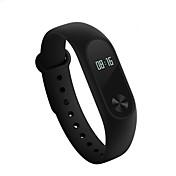 xiaomi mi band 2 aktivitet tracker smart armbånd iOS android berøringsskjerm hjertefrekvensmonitor lang standby vanntett