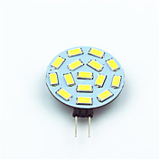 1pc 1W 200 lm G4 Luces LED de Doble Pin T 15 leds SMD 5730 Decorativa Blanco Cálido Blanco Fresco AC 12V