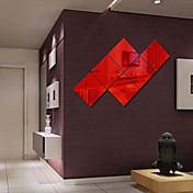 Spejle Former abstrakt Veggklistremerker Krystal mur klistermærker Veggklistremerker i Speilstil Dekorative Mur Klistermærker,Vinyl