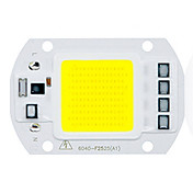 1pc COB 220-240V Selvlysende Led Brikke Aluminium for DIY LED Flood Light Spotlight 50W