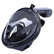 Sets de Buceo Buceo Máscaras Paquetes de Buceo Máscara de esnórquel Máscaras de Cara Completa 180 grados A Prueba de Fugas-Niños Adulto