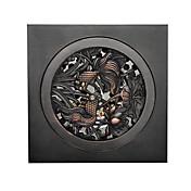 Avløp / Oljeinnsatt bronse Antikk