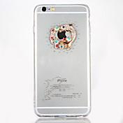 용 크리스탈 DIY 케이스 뒷면 커버 케이스 카툰 하드 아크릴 용 Apple 아이폰 7 플러스 아이폰 (7) iPhone 6s Plus iPhone 6 Plus iPhone 6s 아이폰 6