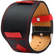 Lienza de Cuero Ver Banda Correa Negro 20cm / 7.9 Pulgadas 2cm / 0.8 Pulgadas