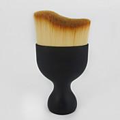 1pcs Profesjonell Makeup børster Konturbørste / Foundationbørste / Rougebørste Syntetisk hår Bærbar / Reisen / Økovennlig Plast Ansikt /