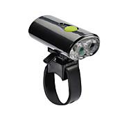 Linternas LED Linternas de Cabeza Luces para bicicleta LED Ciclismo Recargable Tamaño Pequeño USB Lumens USB Blanco frío Ciclismo