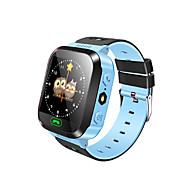 Barneklokker GPS Pekeskjerm Pedometere Distanse måling Håndfri bruk Lang Standby Anti-lost Beskjedkontroll Aktivitetsmonitor Søvnmonitor