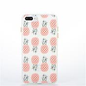 Para Fosforescente Diseños Funda Cubierta Trasera Funda Fruta Suave TPU para AppleiPhone 7 Plus iPhone 7 iPhone 6s Plus iPhone 6 Plus