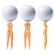 Tee de Golf Accesorios de golf Impermeable Duradero Reutilizable Portable para Golf - 50 piezas