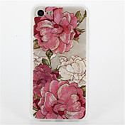 Para Diseños Funda Cubierta Trasera Funda Flor Suave TPU para Apple iPhone 7 Plus iPhone 7 iPhone 6s Plus iPhone 6 Plus iPhone 6s iphone 6